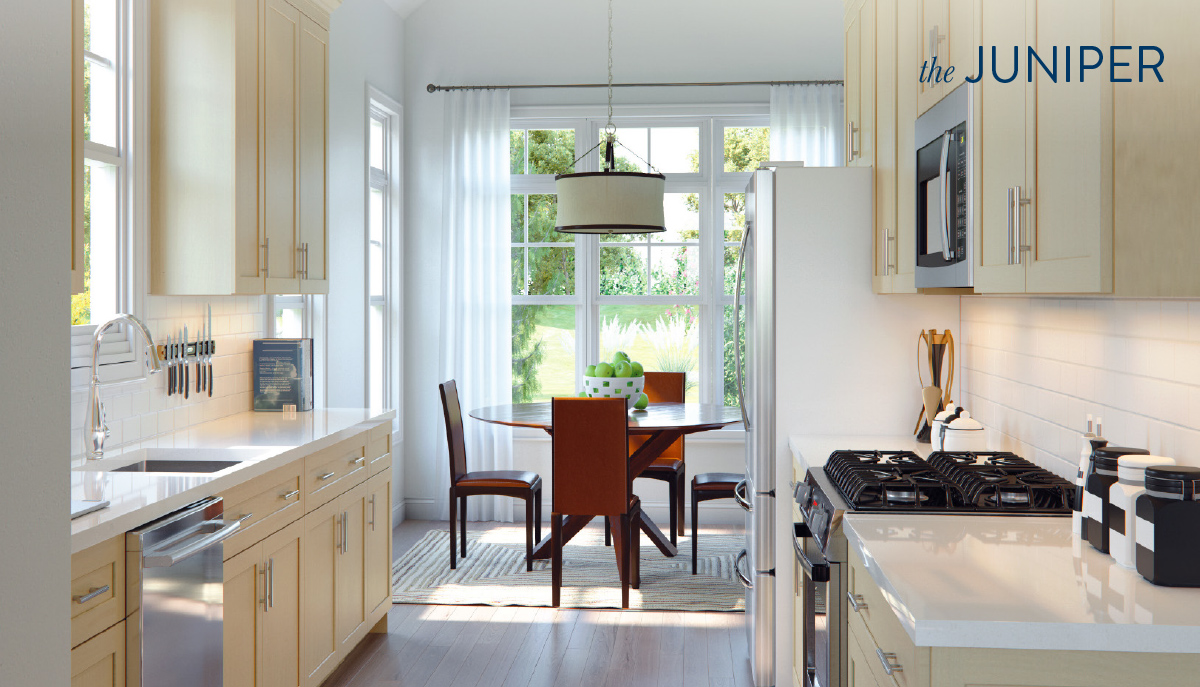 Kitchen/dining room interior